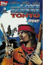 Lone Ranger And Tonto Comic 3 Cover A First Print 1994 Joe Lansdale Topps
