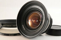 【MINT】NIKON AI NIKKOR 18mm F/4 1:4 MF Camera Lens +HN-15 Hood Filter From JAPAN