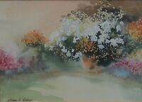 William G Perkins (British 20th Century) The Peaceful Buch Signed  Watercolour