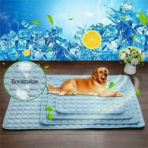 Pet Dog Cooling Gel Mat Pad Large Comfortable Cushion Bed for Dog Cat Puppy S/XL