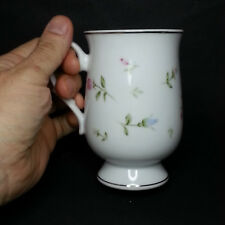 SHEFFIELD Fine China Tall Coffee Mug Rambling Rose Made in Japan Collectible