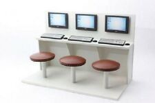 1:12 scale dolls house miniature handmade internet cafe unit ideal for cafe/shop