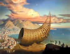 """Vladimir Kush         """"Horn of Babel""""      Giclee on Canvas"""
