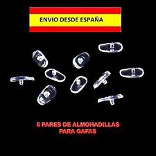 ALMOHADILLAS PARA GAFAS RECAMBIOS 5 PARES LENTES GLASSES PADS SOPORTE NARIZ 10P