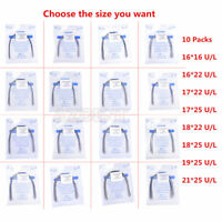 10X AZDENT Dental Orthodontic Stainless Steel Rectangular Arch Wire Natural Form