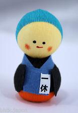 起き上がり小法師 Okiagari Koboshi - Figurine papier maché MOINE ZEN - Made in Japan
