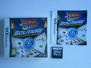JEWEL QUEST SOLITAIRE * NINTENDO GAME DS /WORKS ON ALL DS CONSOLES