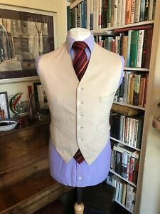 Turnbull & Asser 1940s Bespoke Wool Waistcoat
