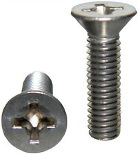 "Stainless Steel Flat Head machine Screws 10-32 x 1/4"" Qty 25"