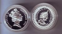 1992 Queen Mother Queen Elizabeth Silver Proof $25 Coin ex Masterpieces in Set