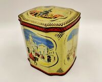 Vintage Advertising Confectionery/Biscuit Tin-Rare Carrs/Carr & Co-London Scenes