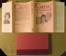 1982 CARING A DAUGHTERS STORY by DIANE RUBIN Hard Cover Book