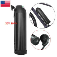 X-go 36V 10Ah Black Bottle Lithium Li-ion Battery for Electric Bicycle E-Bike