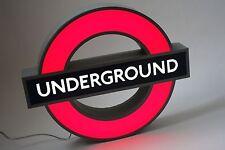 London Underground Illuminated Sign / Night Light / Wall Decor Lamp