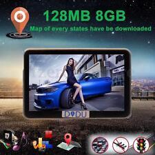 "4.3"" 8GB Car GPS SAT NAV Navigation System FM Touch Screen UK EU Free Map Satnav"