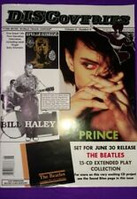 DISCoveries magazine PRINCE cover & article June 1992 from personal collection
