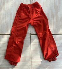 Burton Snowboarding Pants Flame Scarlet Orange Snow Skiing Pants Size Small