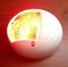 MARINE BOAT VERTICAL MOUNT RED PORT LED NAVIGATION LIGHT 2NM