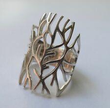 Ring filigrane Arbeit 925 Silber Vintage 70er ring silver