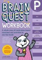 BRAIN QUEST WORKBOOK PRE-K - ONISH, LIANE - NEW PAPERBACK BOOK