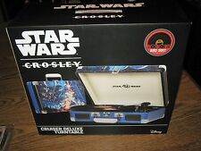 STAR WARS 40th Anniv Crosley Cruiser Deluxe Turntable RSD 2017 Record Store Day