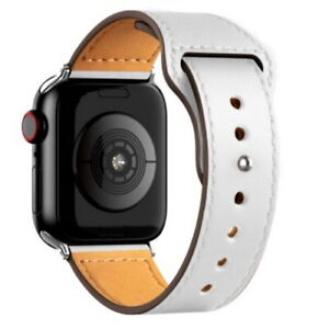 PU Leather band Strap for Apple Watch Series 7/SE/6/5/4/3 iWatch 38-40/42-44 mm