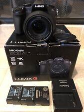 Panasonic LUMIX G85 16.0MP Digital Camera - Black (Kit w/ ASPH 12-60mm Lens)