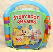 New listing Fisher Price Story Book Rhymes Musical Book