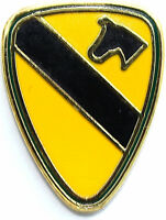 """1ST CAVALRY Military Veteran US ARMY Hat 1"""" Pin MP-100"""