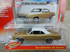 2016 Johnny Lightning *MUSCLE CARS USA R1A* Gold 1967 Chevelle Malibu *NIP!*