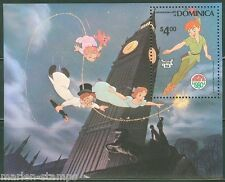 Dominica Disney Christmas Peter Pan 1980 S/S Scott #688 Mint Never Hinged