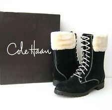 NWB Women's Cole Haan Air Becca Short Boot Size 7.5 (US) Black Suede