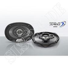Clarion SRG6933R 3-Wege Multiaxial oval Lautsprecher 15cm x 23cm 450 Watt Boxen