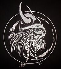 VIKING -  embroidery - sew on - thread - patch
