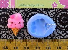 Moule Silicone Mini glace kawaï - fimo, résine, plâtre, porcelaine froide