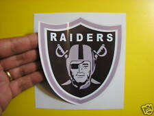 """BEST PRICE!! LOT OF 10 NFL DECAL/ STICKER OAKLAND RAIDERS  5"""" X 5"""""""