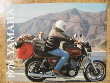 Yamaha 1978 Model Range Sales Brochure, Original NOS