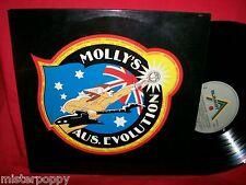 MOLLY'S AUS-EVOLUTION Double LP AUSTRALIA 1982 MINT- AC/DC Bee Gees Zoot Dragon