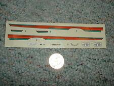 AMT Ertl decals 1/24 1/25 1969 Ford Cobra v G39