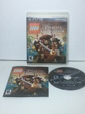 LEGO PIRATES OF THE CARIBBEAN: THE VIDEO GAME Playstation 3 PS3 Complete CIB Goo