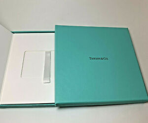 Tiffanys Gift Card Box Only with Insert