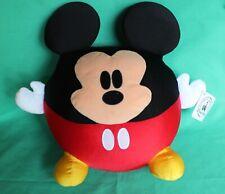 "Disney Park Mickey Mouse 12"" Large Round Plush Toy New Disney Authentic Original"