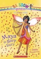 Music Fairies #5: Maya the Harp Fairy: A Rainbow Magic Book