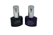CND SHELLAC LUXE  UV Nail Polish  TOP COAT AND TEMPTATION  - 12.5ml (SET)