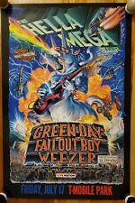 GREEN DAY - 2020 HELLA MEGA TOUR POSTER!! PROMO ONLY!! RARE!!!