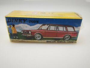 DINKY TOYS ATLAS BREAK SIMCA 1500 N°507 1/43