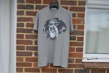 GIVENCHY Grey Felt Rottweiler T-shirt   Size XXS Columbian SS16 RRP £410