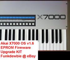 Akai X7000 OS v1.6 EPROM Firmware Upgrade KIT