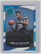 AMARA DARBOH Seahawks SIGNED 2017 Donruss Football #307 Autograph ON CARD AUTO