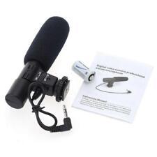 Mic-01 3.5 mm DV Stereo Microphone for Canon Nikon DSLR Camcorder